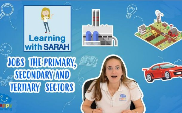 LEARNING WITH SARAH:  JOBS: PRIMARY, SECUNDARY AND TERTIARY SECTORS