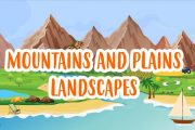MOUNTAIN AND PLAIN LANDSCAPES